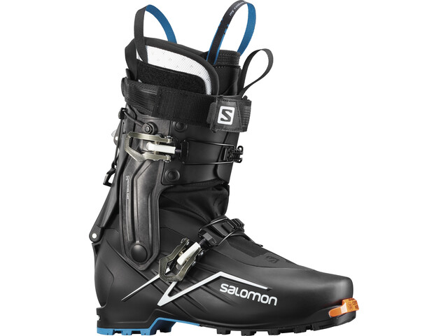 Salomon X-Alp Explore Alpine Boots Black/White/Transcend Blue